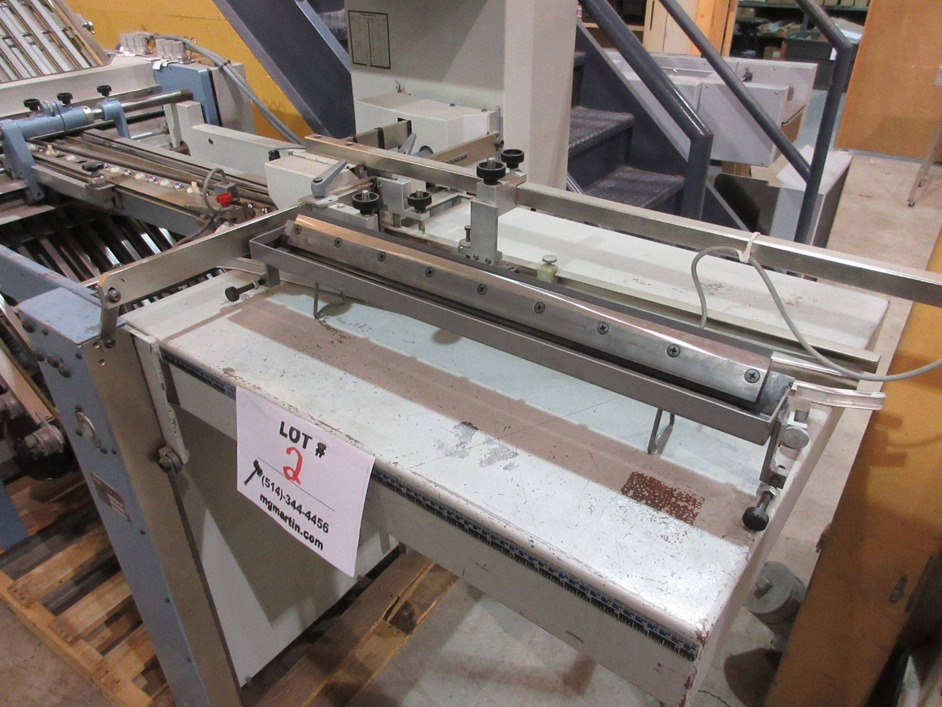 MBO folder c/w pile feeders (type: A49-DC / type: T49-1-49/4) - Image 4 of 15