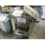 HORIZON stitcher & folder FORE-EDGE trimmer (mod: FC-9A) 115-120V, 50-60 hz, 3.0A
