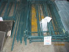 """Section of shelving , shelf measurements (approx. 41""""w x 24""""d x 62""""h)"""
