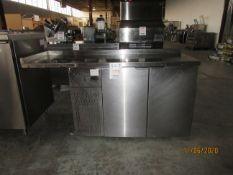 INTERTEK refrigerator unit (mod: CTRCI-63-21), 120V,7A w/ built in compressor (7.2 Fla, 32.7 LRA)