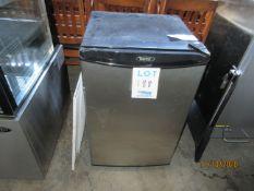 "DANBY refrigerator (mod: DCR412BLS), approx. 21""w x 18""d x 32""h"