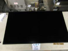 "SAMSUNG 40"" TV (mod: 400UX-3) w/ wall mounting bracket"