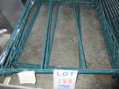 """Section of shelving shelf measurements (approx. 29""""w x 23""""d x 62""""h)"""