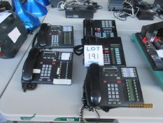 LOT Including (3) NORTEL NETWORKS phone systems, (1) BELL phone system & (1) MERIDIAN phone system