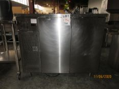 INTERTEK refrigerator unit (mod: RBCI-48-30), 120V,7A w/ built in compressor (7.2 Fla, 32.7 LRA)