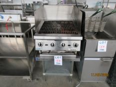 """LOT Including GARLAND (4) burner grill (approx. 24""""w x 32""""d x 24""""h) & THORINOX s/s table (approx."""