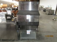 """LOT Including HOSHIZAKI commercial ice maker (approx. 30""""w x 28""""d x 39""""h) & THORINOX s/s table ("""