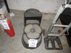 """LOT Including (2) 14"""" step stools"""
