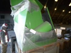 Pallet of ducting