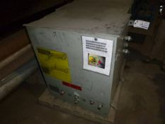 Quench pump control cabinet