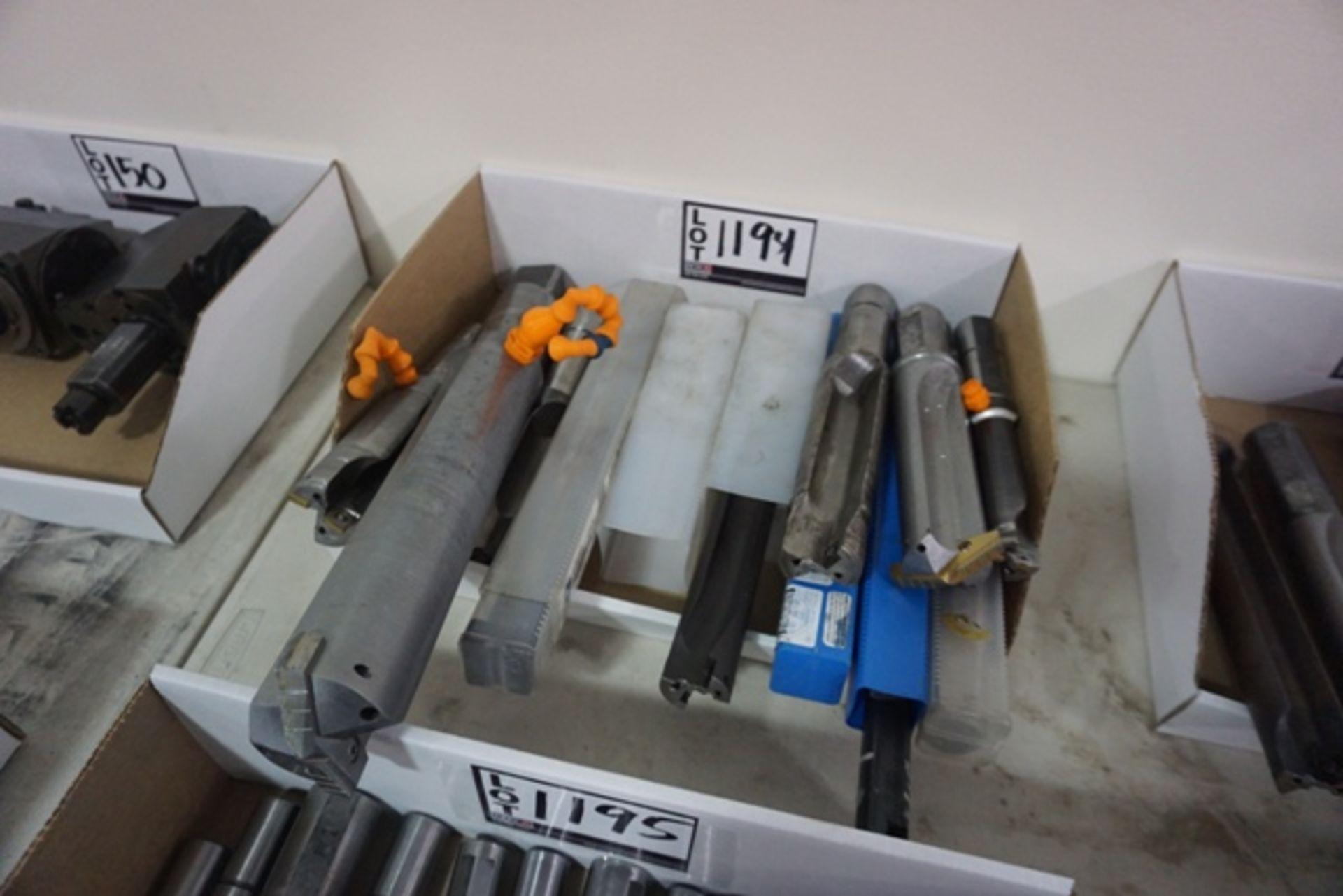 Lot 1194 - Assorted Carbide Insert Spade Drills