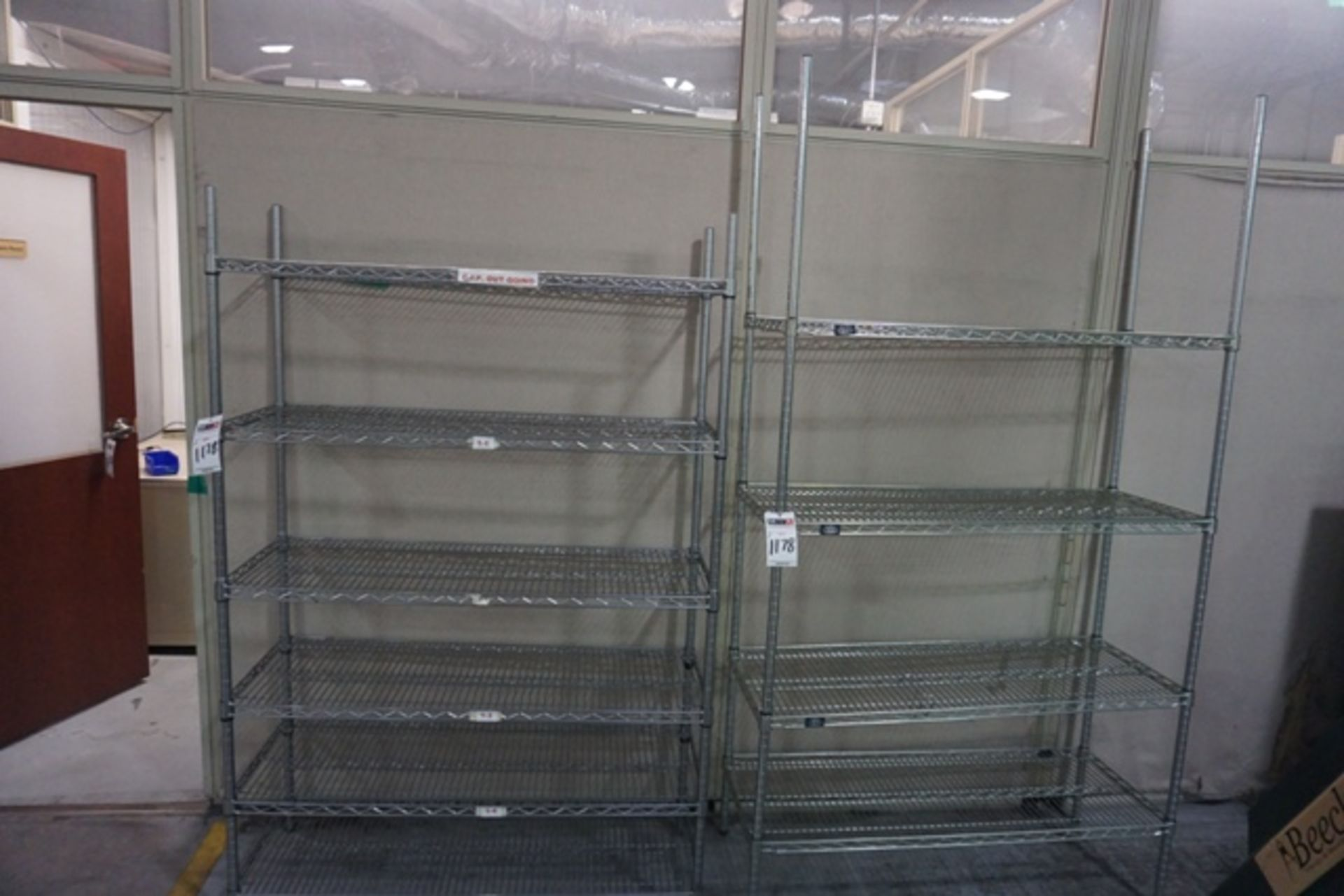 Lot 1178 - Assorted Wire Racks