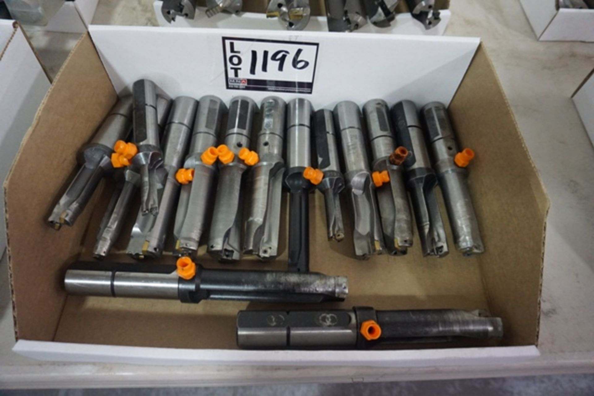 Lot 1196 - Assorted Carbide Insert Indexable Dills