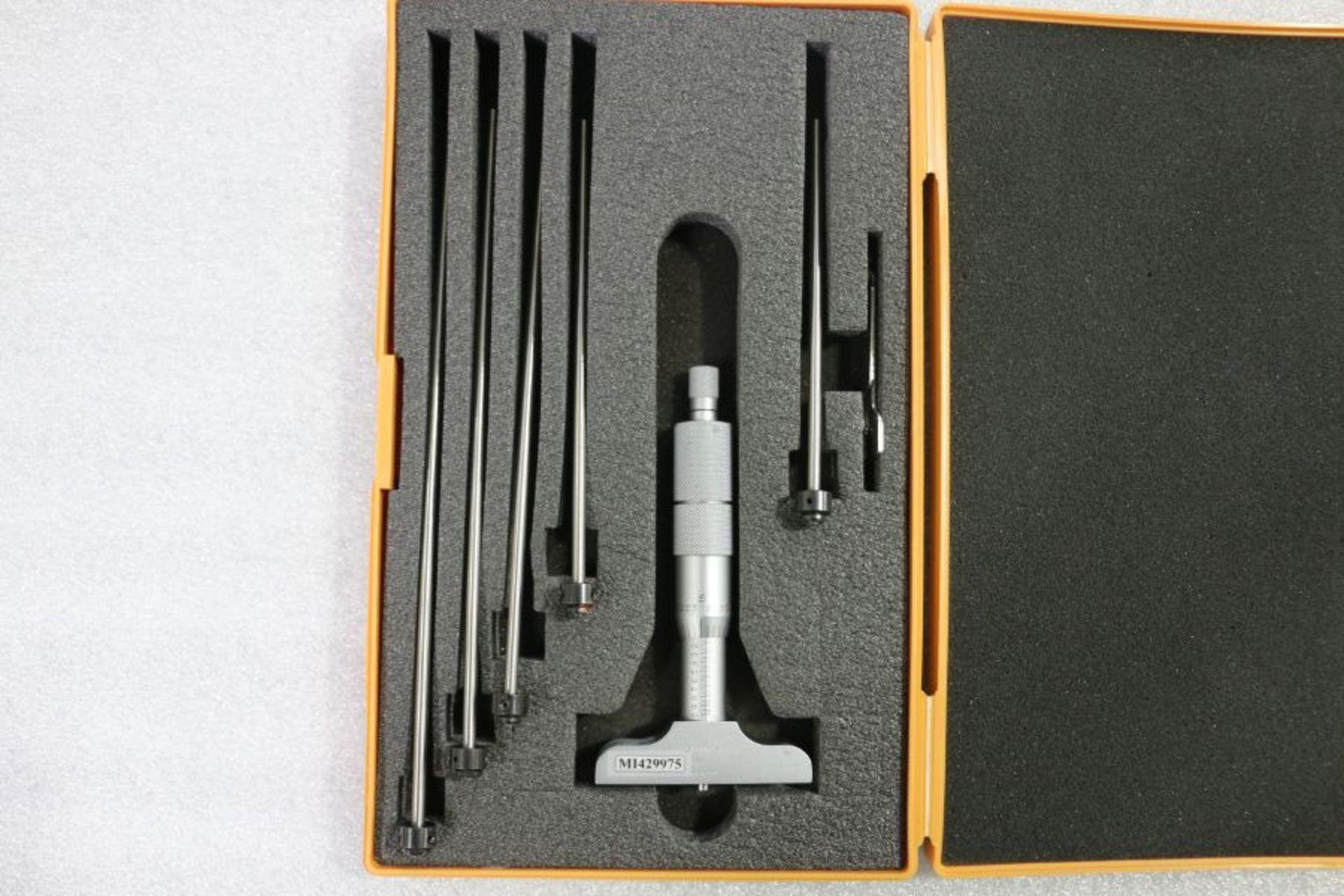 """Lot 80 - Mitutoyo 0 - 6"""" Depth Micrometer"""
