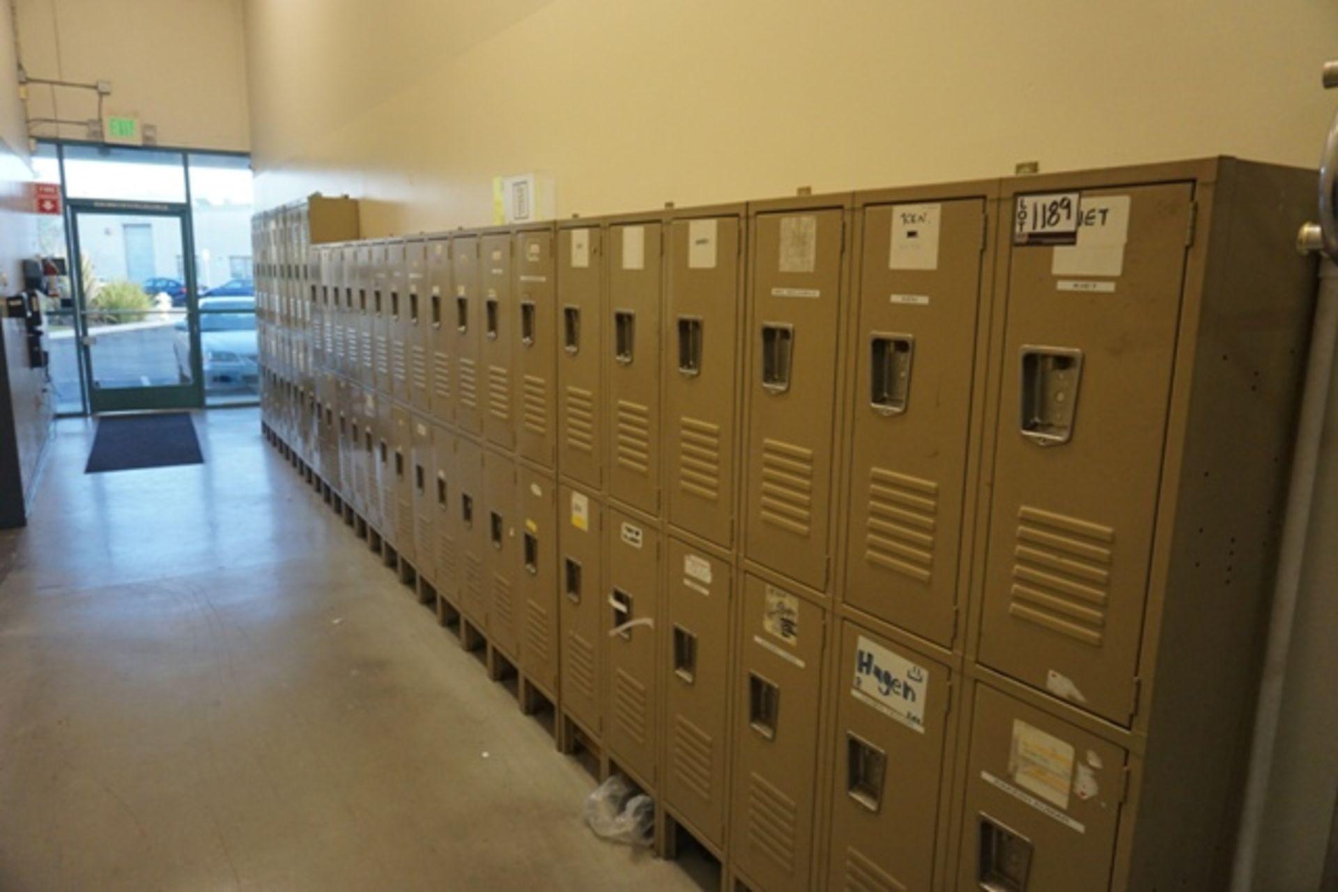 Lot 1189 - Lockers