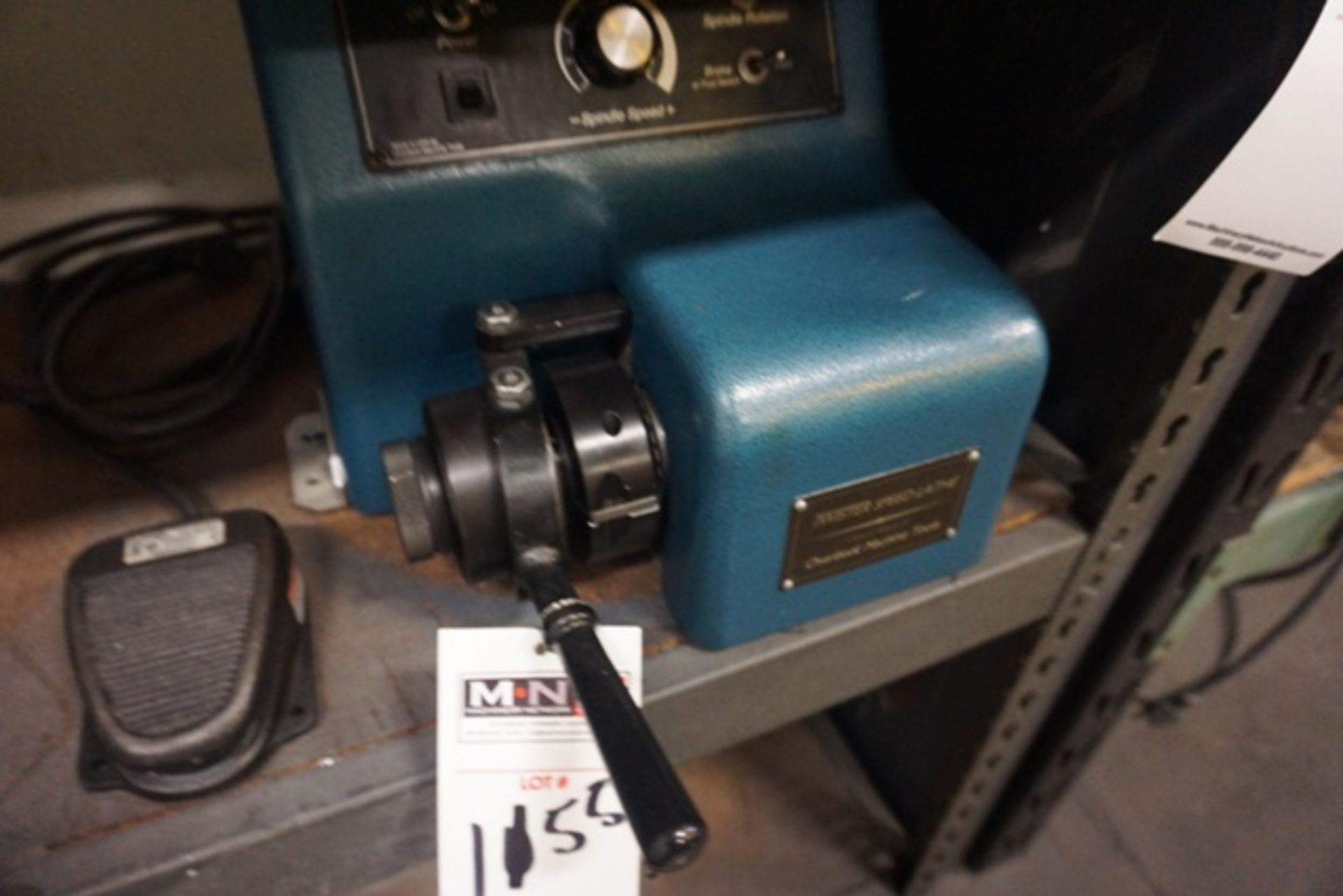 Lot 1155 - Overbeck Machine LT-1B Twister Speed Lathe, 5C Collet Bench Top Lathe
