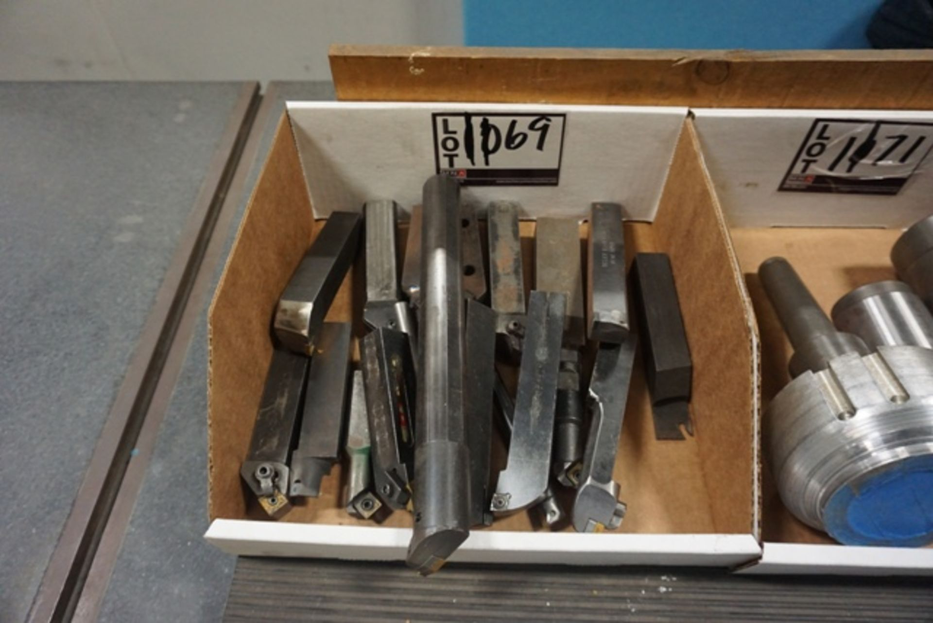 Lot 1169 - Assorted Carbide Insert Tool Holders