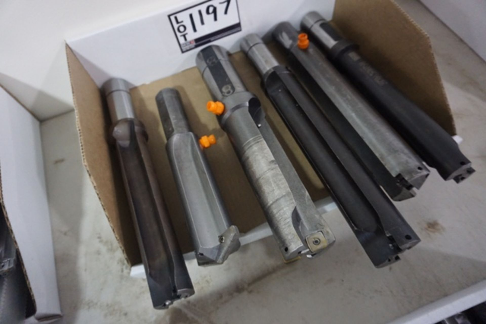 Lot 1197 - Assorted Carbide Insert Indexable Dills