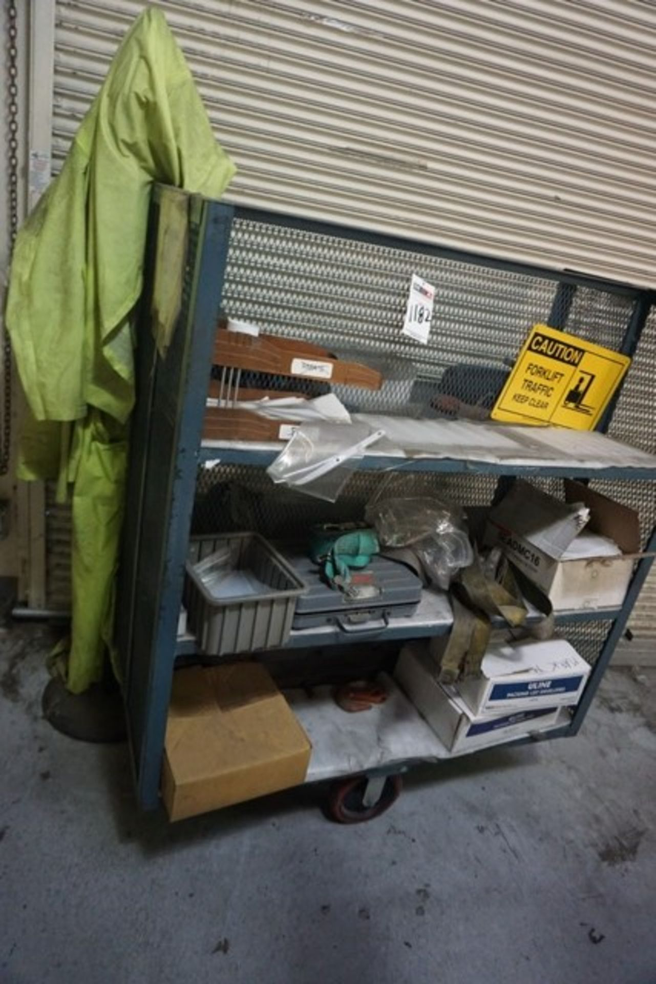 Lot 1182 - Wire Cart