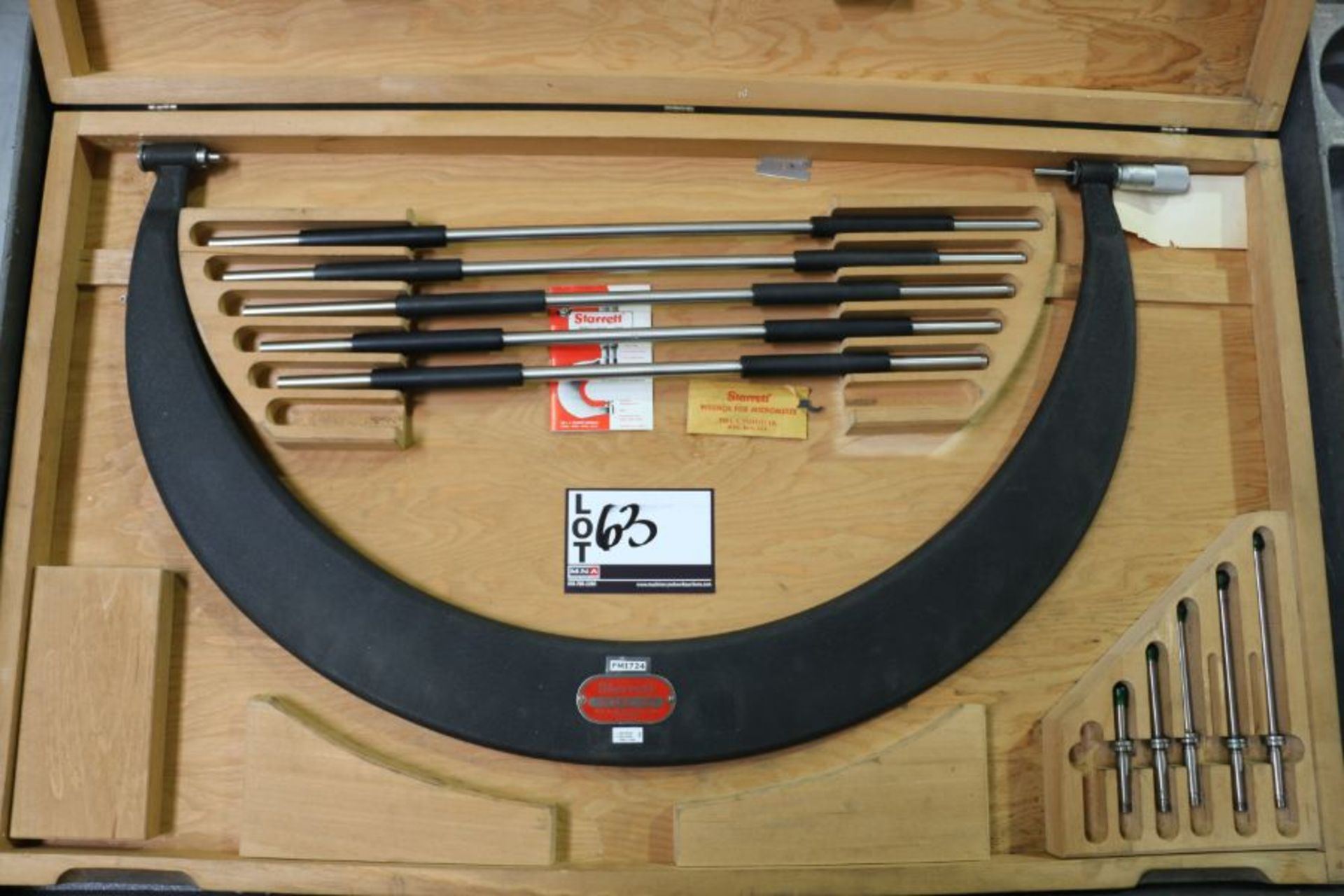 "Lot 63 - Starrett 18"" - 24"" Outside Micrometer"