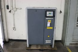 Atlas Copco GA5FF Rotary Screw Air Compressor, s/n AII127807, New 2000