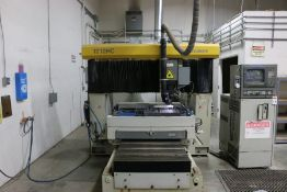 "Mitsubishi 1212HC CNC CO2 Laser, 3 KW, 49.2"" x 49.2"" travels, New 1992"