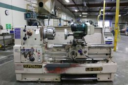 "Supermax LG-2236 Gap Bed Engine Lathe,12"" 6 Jaw Chuck, 3"" Bore, Acu-Rite DRO, Duplex Grinder, s/n"