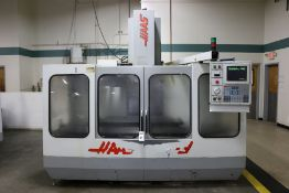 "Haas VF-3, 40""x20""x20"" Travels, 20 Position Tool Carousel, CT-40 Taper, s/n 4311, New 1995"