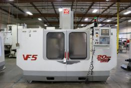 "Haas VF-5, 50"" x 26"" x 25"" Travels, 20 Position Tool Carousel, CT-40 Taper, s/n 19337, New 2000"