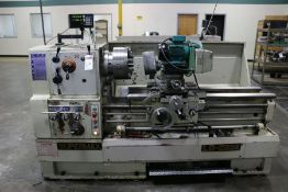 "Supermax LG-2236 Gap Bed Engine Lathe,12"" 6 Jaw Chuck, 3"" Bore, Sony LH52 DRO, Duplex Grinder, s/n"