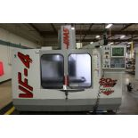 """Haas VF-4, 50"""" x 20"""" x 25"""" Travels, 20 Position Tool Carousel, CTS, CT-40 Taper, s/n 14261, New 1998"""