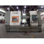 """Fortune Vturn-36, Fanuc 0i-T, 25.6"""" SW, 21.7"""" Max. Turn Dia. x 51"""" Centers, 4.1"""" Spindle Bore,"""