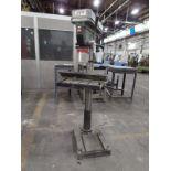 "Jet J-2550 20"" Floor Type Drill Press, 16"" x 18"" Table, s/n 18052114"