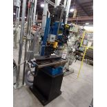 "Enco 405-0593 20"" Square Column Geared Head Mill, 9"" x 31"" Table, s/n 24041805049, New 2018"