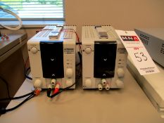 (2) Topward DC Power Supply, MDL# 3601D, S/N 809235 and 809211