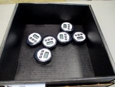 (6) Traceable Timers