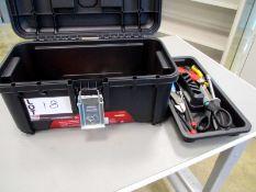 Husky Tool Box with tools
