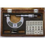 "Mitutoyo 1"" -2"" Screw Micrometer"