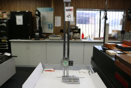 "Mitutoyo 24"" Dial Height Gage"