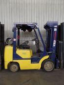 Komatsu FG25ST-12 5000lbs Cap. LPG Forklift, s/n 562575A