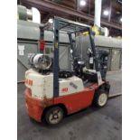 Nissan 40 Optimum Forklift, s/n CPJ02-2P7323?, 24,042 hrs.