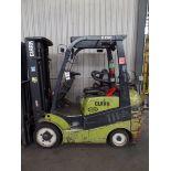 Clark C25 CL 4500lbs Cap. LPG Forklift, s/n C2321014999823 *Needs Battery*