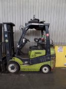 Clark C25 CL 4500lbs Cap. LPG Forklift *Needs Battery*