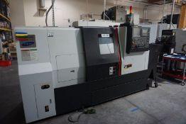 Samsung SL2500 CNC Lathe, Fanuc 0i-TC Control, New 2015