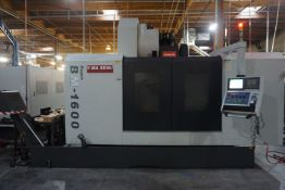 Yama Seiki Super BM-1600 Vertical Machining Center, Fanuc Oi-MD Control, New 2012