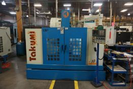 Takumi V10 Vertical Machining Center, Fanuc 18M Control, New 2000