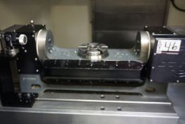 """Haas TR160H Trunion 6"""" Table, s/n 904057,"""