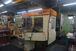Makino MC86-A40 4-Axis Horizontal Machining Center, Fanuc 15-M Control, New 1989