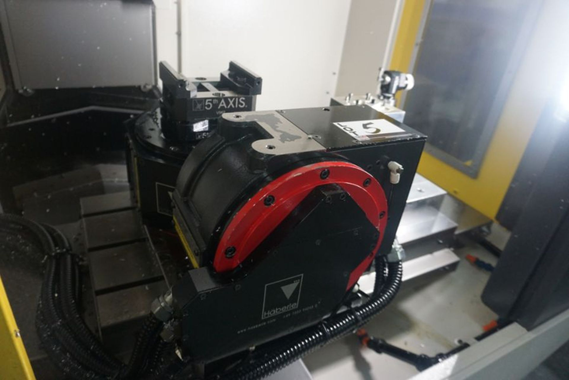 Haberle Fanuc DDRiB 5 Axis Rotary Table, s/n P183DXN18, New 2018 - Image 2 of 3