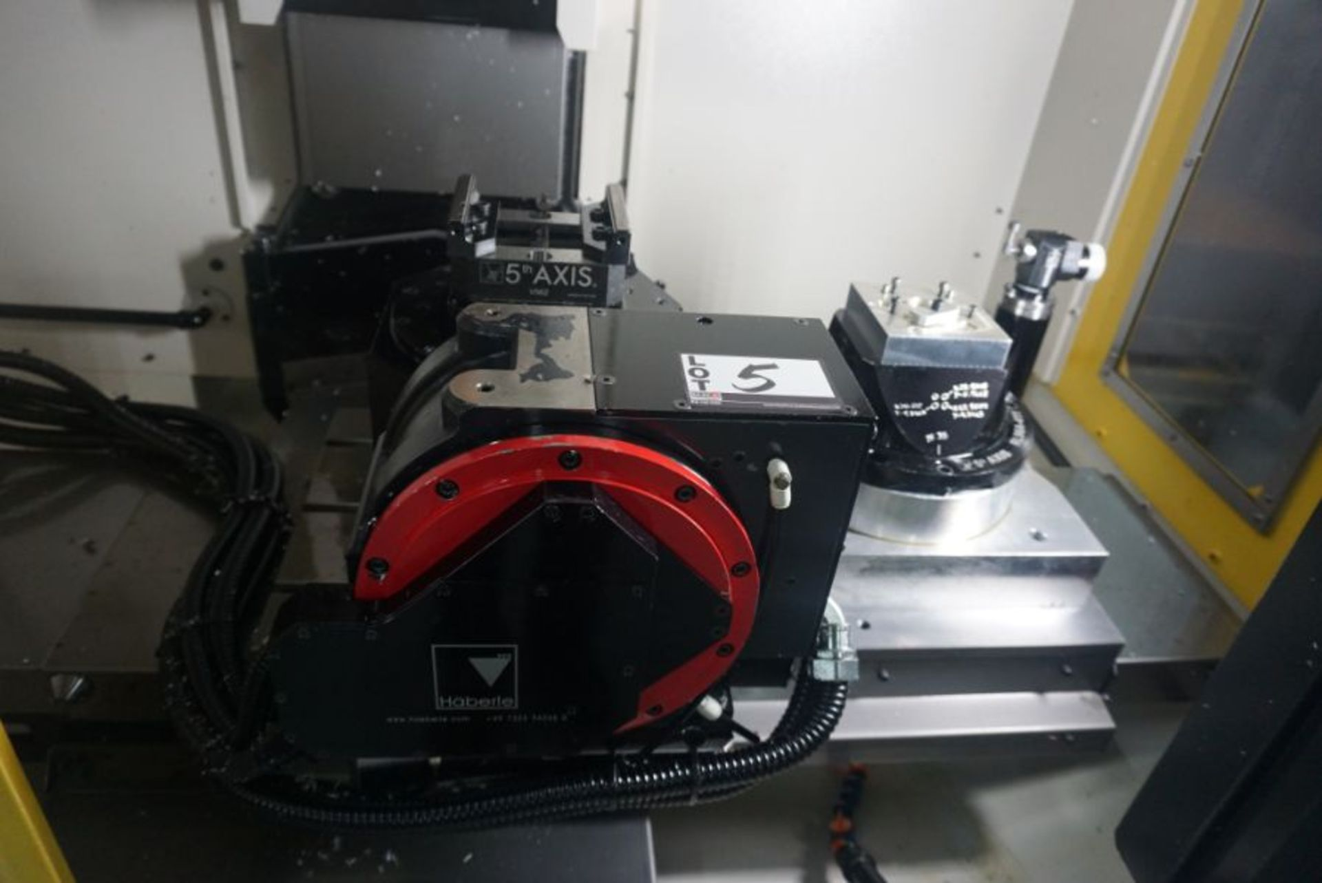 Haberle Fanuc DDRiB 5 Axis Rotary Table, s/n P183DXN18, New 2018 - Image 3 of 3